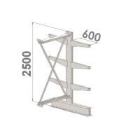 Add On bay 2500x1500x2x600,4 levels