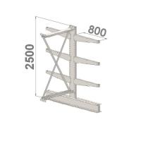 Add On bay 2500x1500x2x800,4 levels