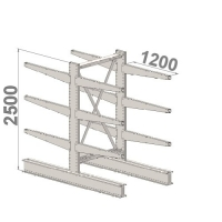 Starter bay 2500x1500x2x1200,4 levels