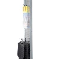 Perforerad tät gavel 3000x800