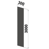 Gavelplåt 3000x300