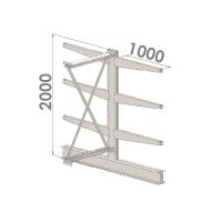 Add On bay 2000x1500x2x1000,4 levels