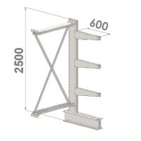 Grenställ följesektion 2500x1500x600,3 x arm