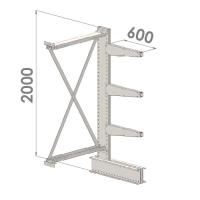 Add On bay 2000x1500x600,4 levels