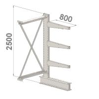 Grenställ följesektion 2500x1500x800,3 x arm