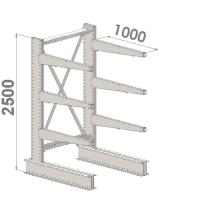Grenställ startsektion 2500x1500x1000,6 x arm