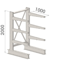 Starter bay 2000x1500x1000,4 levels