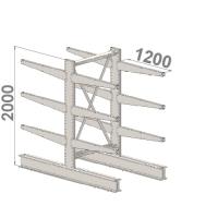 Starter bay 2000x1500x2x1200,4 levels