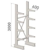 Grenställ startsektion 3000x1500x600,8 x arm