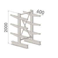 Starter bay 2000x1500x2x600,4 levels