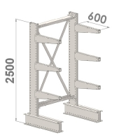 Grenställ startsektion 2500x1500x600,6 x arm