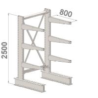 Grenställ startsektion 2500x1500x800,6 x arm