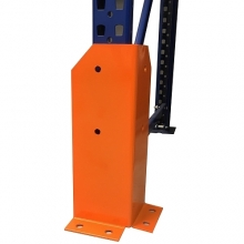 L-type upright protector H400mm with holes