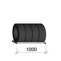Däckhylla 1000x500