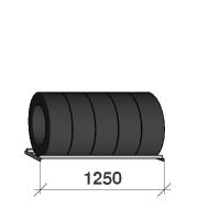 Däckhylla 1250x500