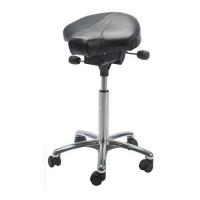 Saddle stool Gamma Alu50