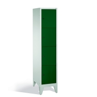 4-tier locker, 4 doors, 1850x420x500 mm