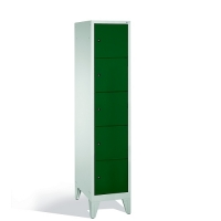 5-tier locker, 5 doors, 1850x420x500 mm