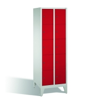 5-tier locker, 10 doors, 1850x610x500 mm