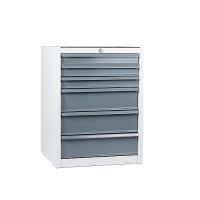 Drawer cabinet, 6 drawers 550x500x725