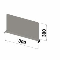 Hyllavdelare 300x300 zn