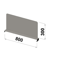 Hyllavdelare 800x300 zn