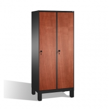 2-door locker, 1850x810x500, MDF doors