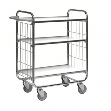 Trolley 3 shelves, 1195x470x1120