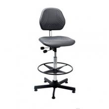 Arbetsstol Comfort hög med fotring