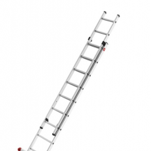 2-sektion ladder Prof 5,15m, 2x9 steg