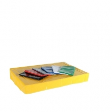 Cover for pallet 1200x800x150 mm yellow