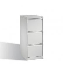 Arkivskåp, med 3 lådor, 1045x433x590mm, RAL7035
