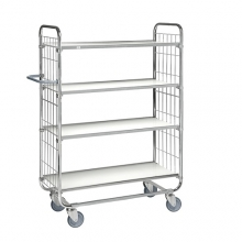 Flexibel shelf trolley 4 shelves, 815 x 470 x 1590, 250kg