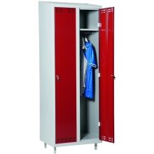 Red/Grey, locker 2door 1920x700x550