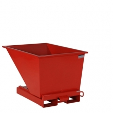 Tipping container 300L red