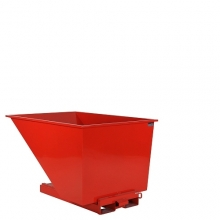 Tipping container 1100L red