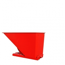 Tipping container 1600L red