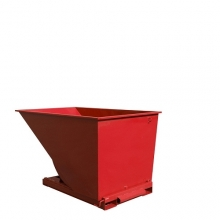 Tippcontainer 2000L röd