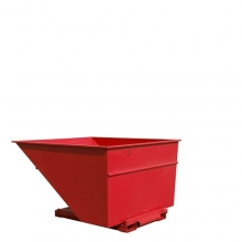 Tipping container 3000L red