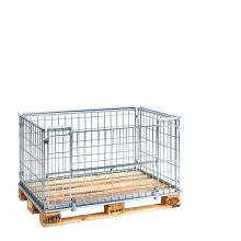 Pallet cage 1220x820x640 opening long side