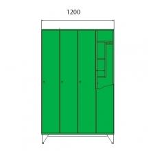 School locker 1590x1200x545