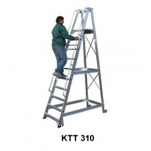 Mobile stair 2790 mm+ wheels