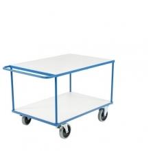 Shelf trolley 2 shelves 1350x800x875mm, 500kg