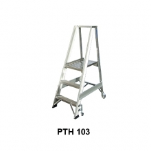 Mobile stair 1440mm + spring wheels