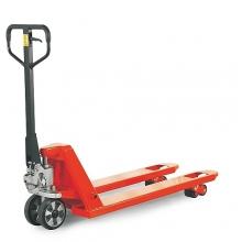 Hand pallet truck 1150x540/2500 kg Rubber castors