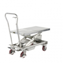 Stainless Lift table 1010x520 500 kg