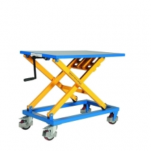 Lifting table with handle cap 300 kg