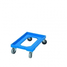 Tray trolley in ABS-plastic 604x402x162mm