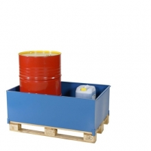 Pallbassäng 400 liter, 1250x810x415