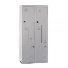 Z Metallskåp ECO, 4 dörrar, 1820x800x450, RAL7035, omonterat